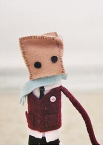 Paper Bag Head-crop