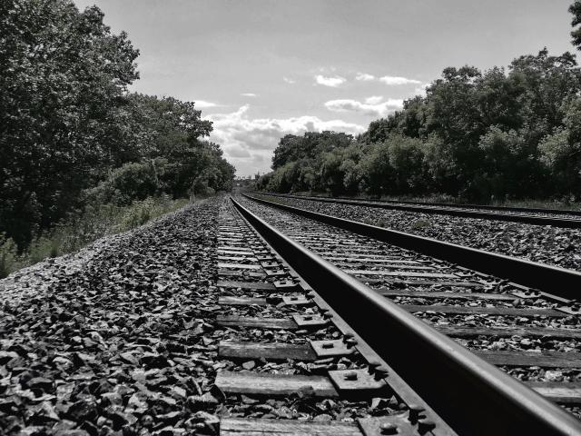 Tracks & Sky-edit