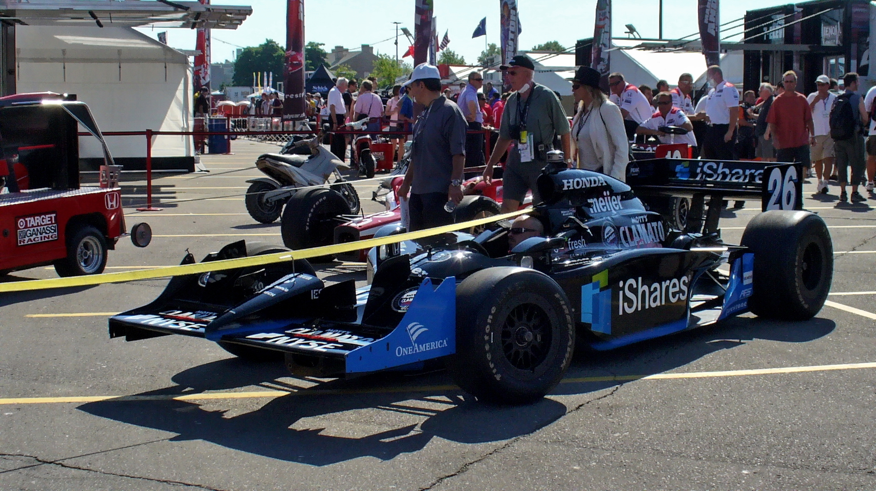 Marco Andretti's Race Car #26