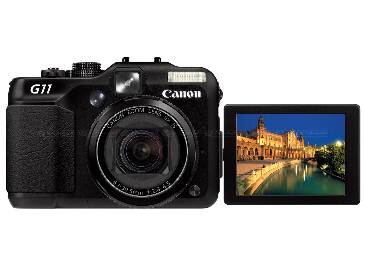 Canon unveils PowerShot G11